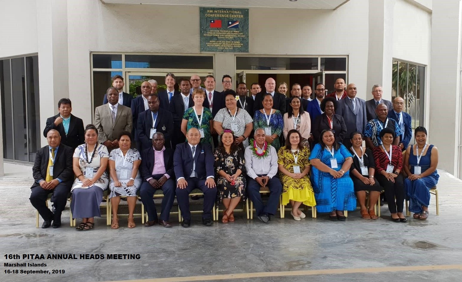 16th Pacific Islands Tax Administrators Association (PITAA) Annual Heads Meeting International Convention Center Majuro, Republic of the Marshall Islands 16th September 2019